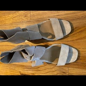 Lucky Brand Suede Wedges